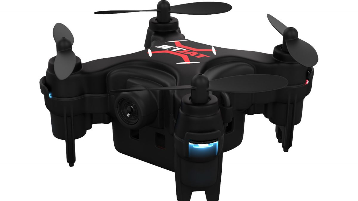 JETJAT ULTRA: un drone in un palmo di mano