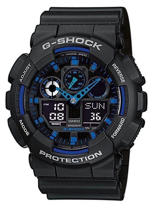 Casio G-Shock GA-100: l'indistruttibile per tutte le tasche