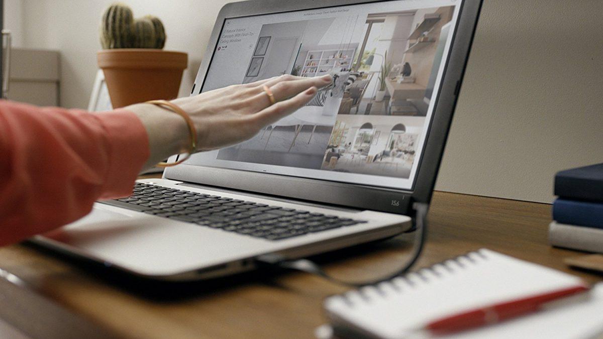 AirBar: trasforma il tuo Notebook in un Touchscreen